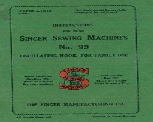 www singer sewing machine manuals com