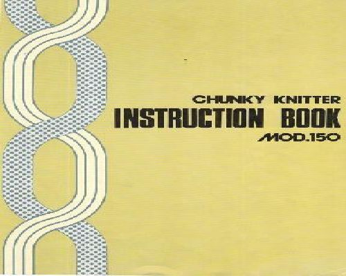 bond knitting machine instructions