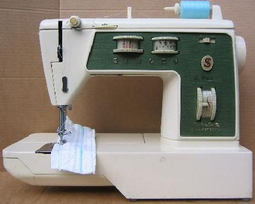Singer 744 784 sewing machine manual for Machine a coudre 784