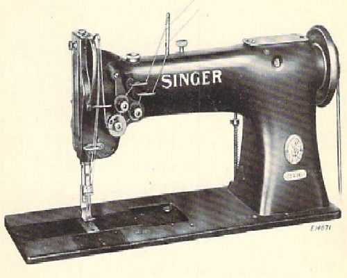 Singer 112w145 Industrial Sewing Machine Parts Manual