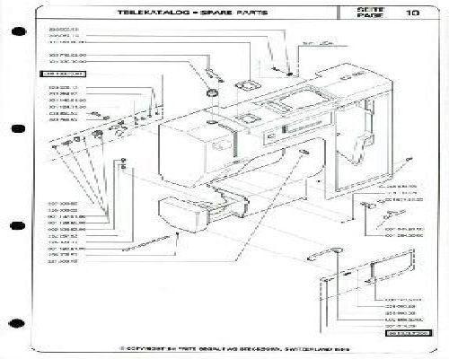 Bernina 40 Sewing Machine Parts Manual Custom Bernina 1000 Special Sewing Machine Manual