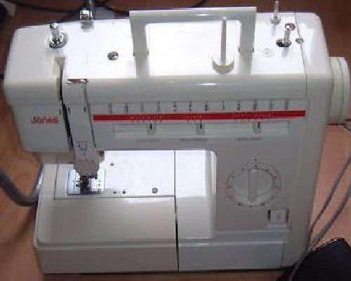 Jones Brother VX 40 Sewing Machine Manual Cool Jones Sewing Machine Manual