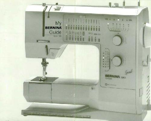Bernina Sewing Machine Manuals Stunning Bernina 1015 Sewing Machine