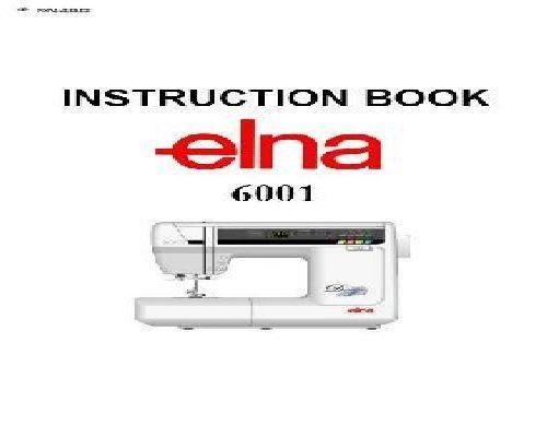 Elna Sewing Machine Manuals