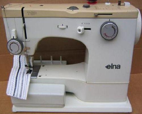 Elna Sewing Machine Manuals Inspiration Elna Air Electronic Tsp Sewing Machine Manual
