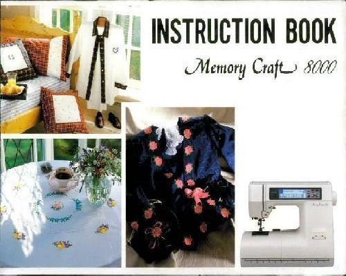 New Home Janome Sewing Machine Manuals