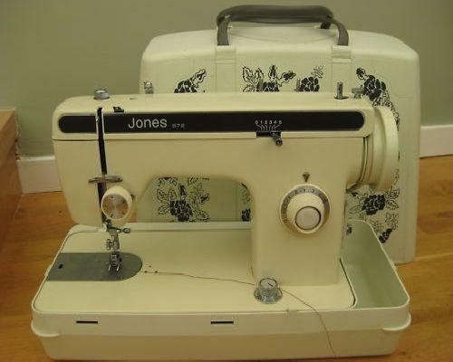 Jones 40 Sewing Machine Manual Beauteous Jones Sewing Machine