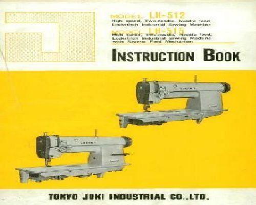 Juki Industrial Sewing Machine Manuals Beauteous Juki Industrial Sewing Machine Instruction Manual