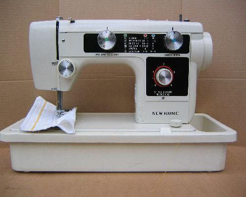 New Home Sewing Machine Manuals Impressive New Home Sewing Machine Models