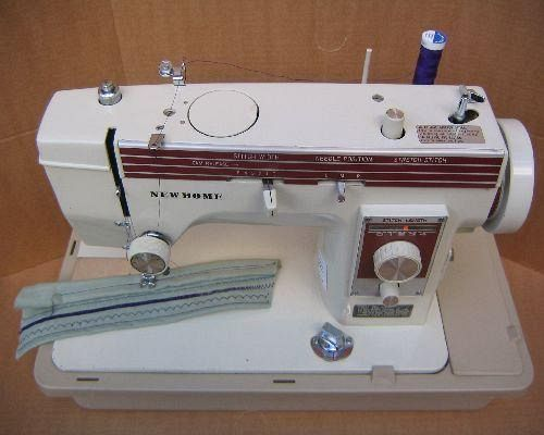 New Home Janome 40 Sewing Machine Manual Interesting New Home Sewing Machine Threading Instructions