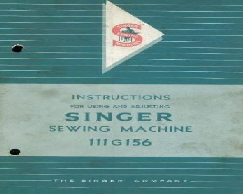 Singer 40G40 Industrial Sewing Machine Instruction Book Using Unique Singer Industrial Sewing Machine Instruction Manual