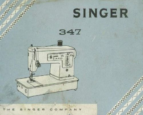 Singer Sewing Machine Instruction Manuals Page 40 Unique Singer 347 Sewing Machine Instruction Manual