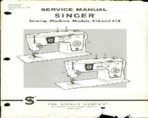 Singer Sewing Machine Service Manuals Simple Singer Sewing Machine Service Manual