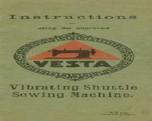 Vesta Sewing Machine Manuals
