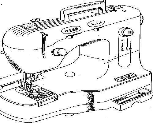 Sew Pro Dz 301 Sewing Machine Manual