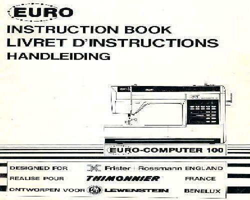 homemaker esm007 instruction manual pdf