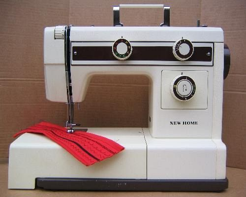 New Home Sewing Machine Manuals Gorgeous New Home Sewing Machine Threading Instructions