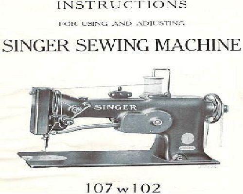 Singer Industrial Sewing Machine Manuals Impressive Singer Industrial Sewing Machine Instruction Manual