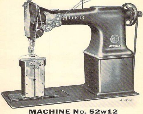 Singer Industrial Sewing Machine Parts Manuals List 2