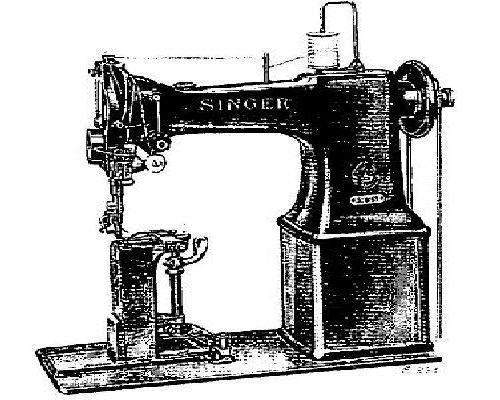 Singer 40w40 Industrial Sewing Machine Parts Manual Classy Parts Of A Manual Sewing Machine